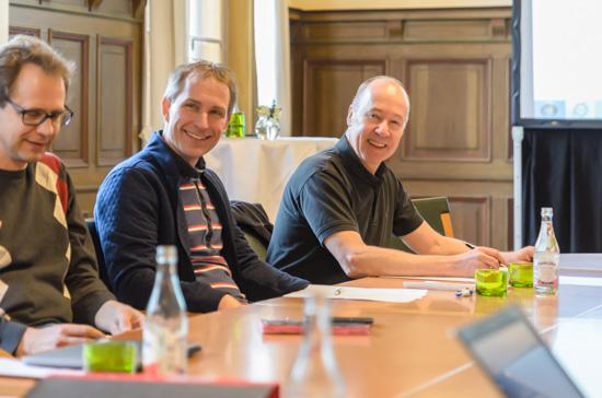 Carl Sjökvist och Lars Fredriksson redo för möte.
